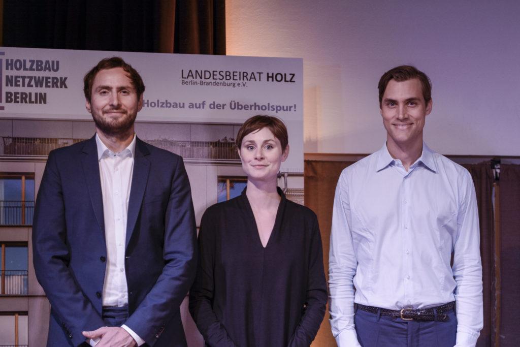 GründerInnen Holzbau Netzwerk Berlin Veranstaltung